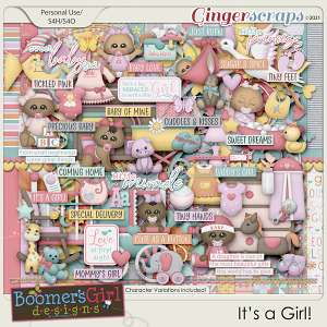 It's a Girl! by BoomersGirl Designs