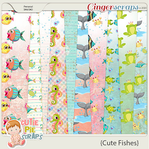 Cute Fishes-Extra Papers