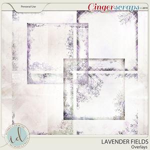 Lavender Fields Overlays by Ilonka's Designs