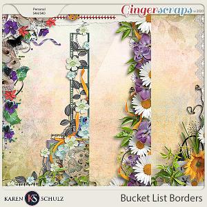 Bucket List Borders by Karen Schulz