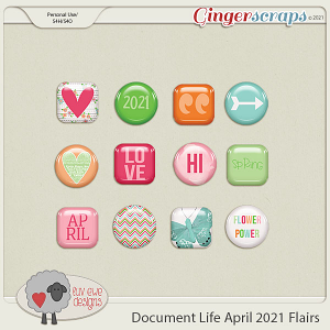 Document Life April 2021 Flairs by Luv Ewe Designs