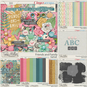 Friends and Family Bundle by Tami Miller Designs