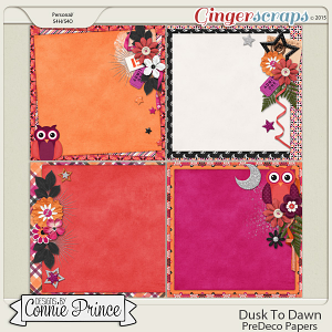 Dusk To Dawn - PreDeco Papers