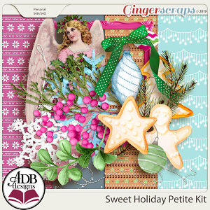 Sweet Holiday Petite Kit by ADB Designs