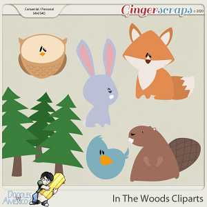 Doodles By Americo: In The Woods Cliparts