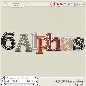 #2020 November - Alpha Pack AddOn by Connie Prince