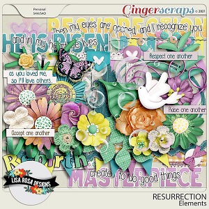 Resurrection - Elements by Lisa Rosa Designs