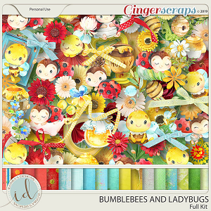 Bumblebees And Ladybugs Full Kit by Ilonka's Designs