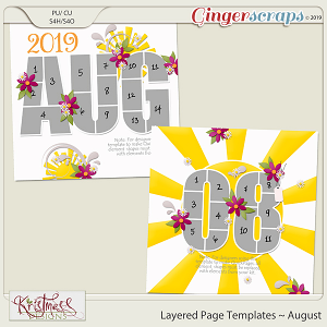 Layered Page Templates ~ August
