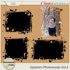 Splatters Photomasks Vol.5