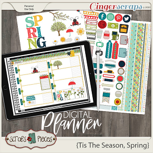 Tis The Season - Spring Planner - Scraps N Pieces