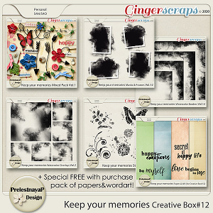 Keep your memories Creative Box #12