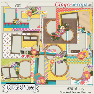 #2016 July - Stacked Pocket Frames