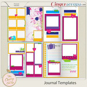 The Cherry On Top Journal Templates