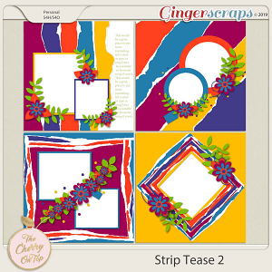 The Cherry On Top:  Strip Tease #2 Templates