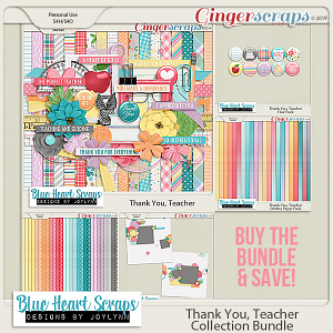 Thank You Teacher Collection Bundle