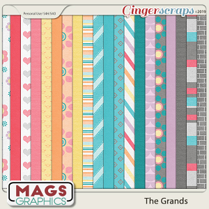 The Grands PAPER PACK by MagsGraphics