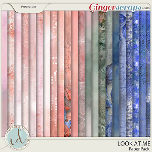Look at Me Paper Pack by Ilonka's Designs