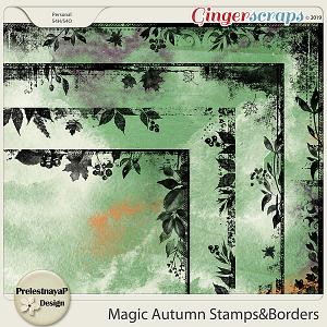 Magic Autumn Stamps&Borders