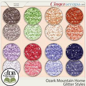 Ozark Mountain Home Glitters by ADB Designs