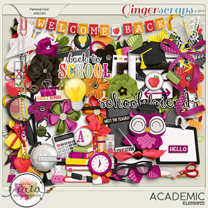 Academic - Elements - by Neia Scraps