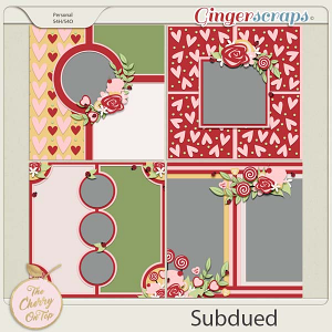 The Cherry On Top:  Subdued Templates