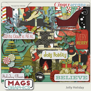 Jolly Holiday KIT by MagsGraphics