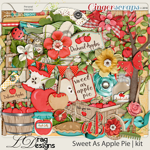 Sweet As Apple Pie by LDragDesigns