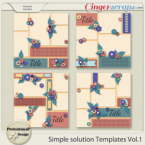 Simple solution Templates Vol.1