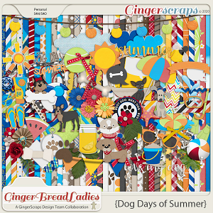 GingerBread Ladies Collab: Dog Days Of Summer