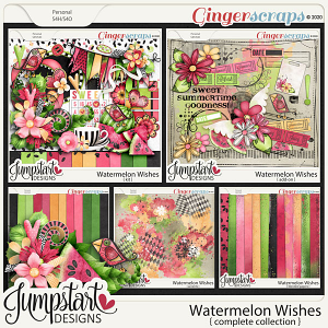 Watermelon Wishes {Complete Collection} by Jumpstart Designs