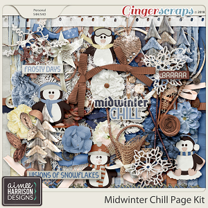 Midwinter Chill Page Kit by Aimee Harrison