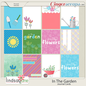 In The Garden Journal Cards by Lindsay Jane