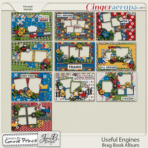 Useful Engines - Brag Book Album