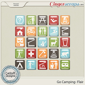 Go Camping - Flair