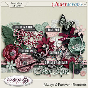 Always And Forever - Elements by Aprilisa Designs