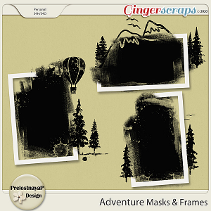 Adventure Masks & Frames