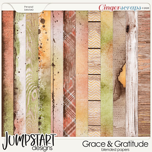 Grace & Gratitude {Blended Papers}