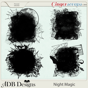 Night Magic Masks by ADB Designs
