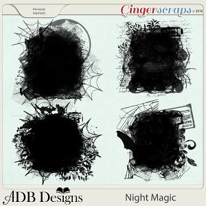 Night Magic Masks by ADB Designs