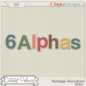 Heritage: Ancestress - Alpha Pack AddOn by Connie Prince