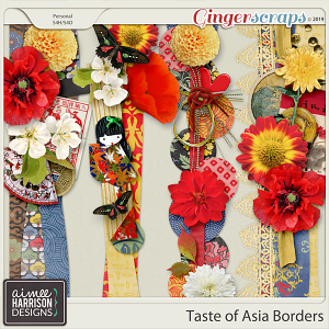 Taste of Asia Borders by Aimee Harrison