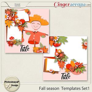 Fall season Templates Set1