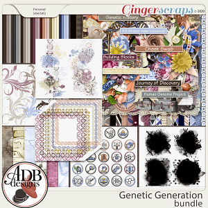 Genetic Generation Bundle by ADB Designs