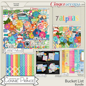 Bucket List- Core Bundle by Connie Prince