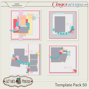 Template Pack 50 by Scraps N Pieces