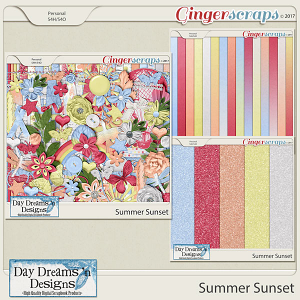 Summer Sunset {Bundle Collection} by Day Dreams 'n Designs