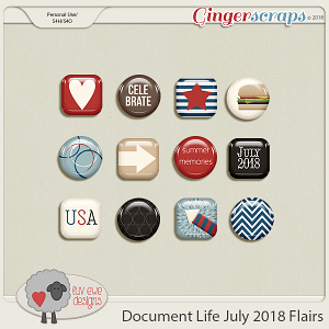 Document Life July 2018 Flairs by Luv Ewe Designs