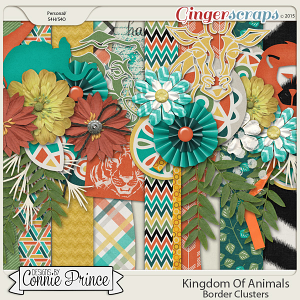 Kingdom Of Animals - Border Clusters
