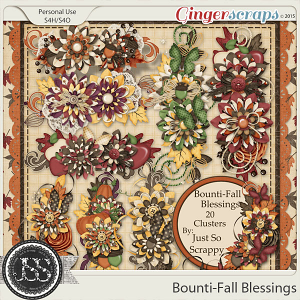 Bounti-Fall Blessings Clusters
